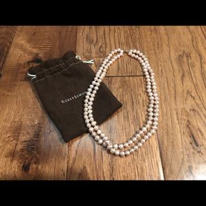 Ross-Simons Freshwater Pink Pearl Necklace NWOT